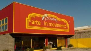 Palestra arte in movimento di Rivignano (UD)