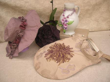 Borse handmade realizzate da Marina Spada
