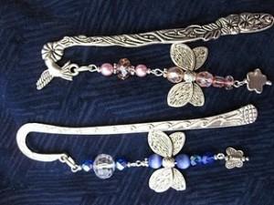 Segnalibri di perline e swarovsky