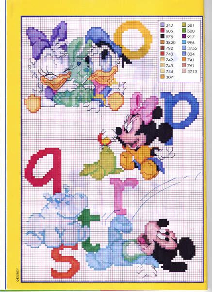 Schemi a punto croce della walt disney gratuiti for Disney punto croce schemi gratis