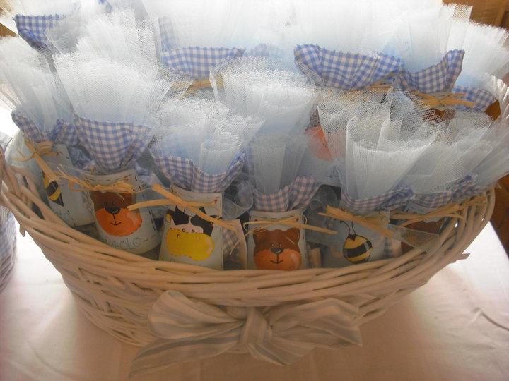 Idea bomboniera per il battesimo: tegoline personalizzate