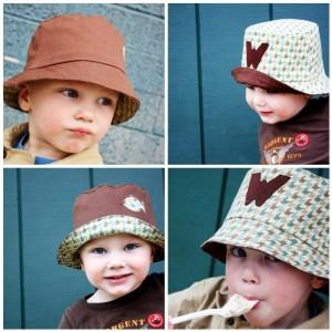 Come realizzare dei cappellini per bambini: tutorial fotografico