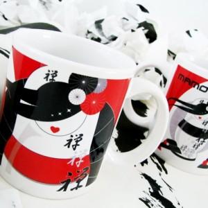 """Tazza zen """"Mug"""" personalizzata da mamotiamo - Prezzo 14 euro"""