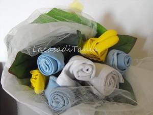 La foto del giorno: bouquet per le pulizie di Tania
