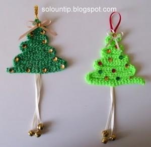 Come fare delle decorazioni all'uncinetto per l'albero di Natale: tutorial e schemi
