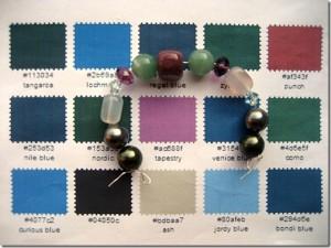 Come creare una palette di colori per abbinare le tonalità di colore nei vostri bijoux
