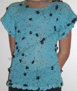 Come fare una maglia in cotone: lo schema
