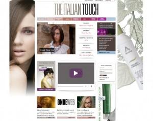 The Italian Tocuh: il nuovo portale dedicato ai capelli e alle acconciature