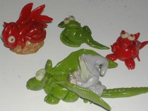 La foto del giorno: i draghi di Francesca