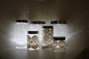 Come realizzare delle lanterne in pizzo