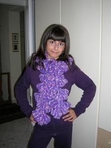 La foto del giorno: la sciarpa di Sara