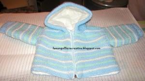 Come realizzare un giubbino in lana: schema-tutorial