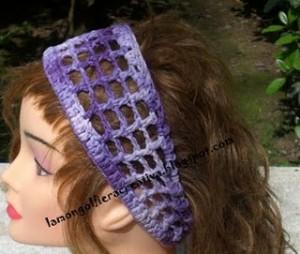 Come realizzare una fascia per capelli: schema-tutorial