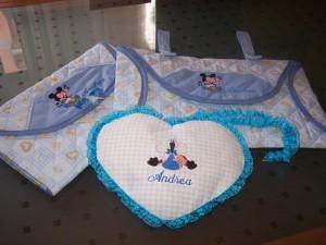 La foto del giorno: set per neonato di Loredana