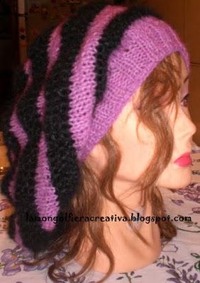 Come realizzare un caldo berretto : schema scaricabile