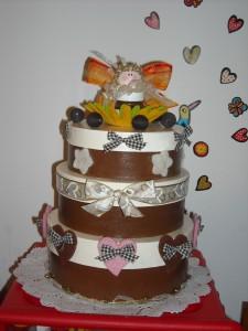 La foto del giorno: la torta regalo di MasciaRaffa