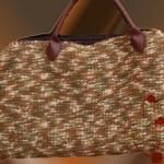 La foto del giorno: la borsa in lana di KnitcrocheThing