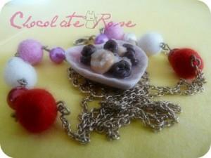 La foto del giorno: una collana per San Valentino di Chocolate Rose