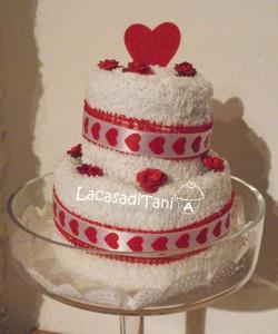 La foto del giorno: la torta di San Valentino di Tania