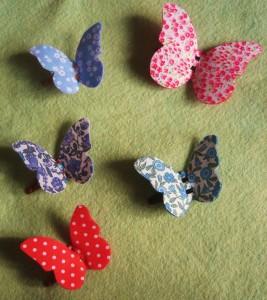 Come realizzare un fermaglio a forma di farfalla: tutorial