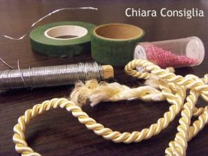 Cuori di perline e di cordoncino: il mio progetto