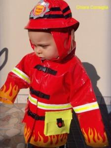 L'impermeabile da pompiere…..firmato Kidorableshop