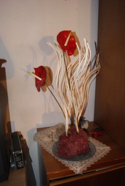 Come realizzare una composizione floreale con l 39 anthurium for Libri per fioristi