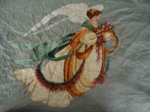 A world cross stitch by Daisy