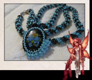 La foto del giorno: la collana di perline Rocailles di Cris