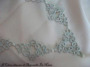 La foto del giorno: la collana a chiaccherino di Antonella