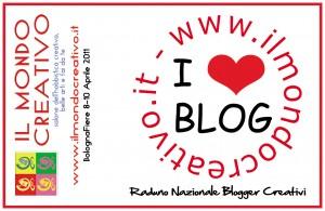 Il Mondo creativo: raduno dei blogger creativi.
