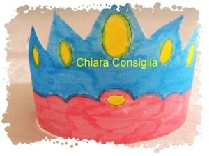 Una corona da tagliare e colorare: modello pronto da stampare