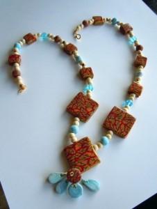 La foto del giorno: collana Inca Square di Valeria