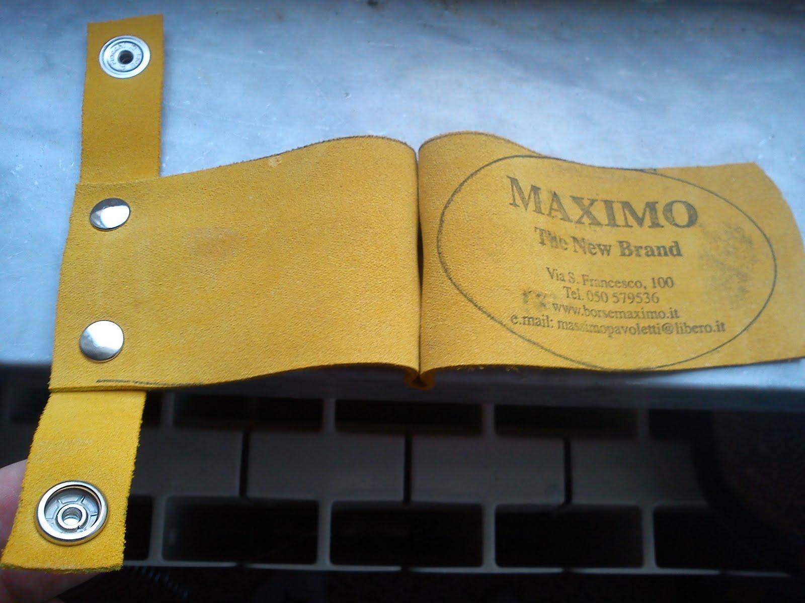 La foto del giorno: il porta biglietti da visita di Maximo