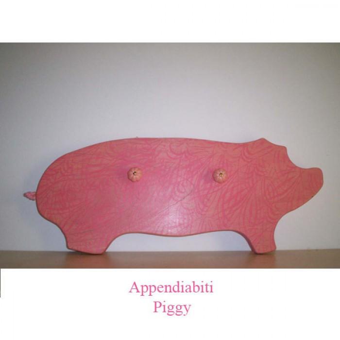 La foto del giorno: l'appendiabiti a forma di maialino di Monica