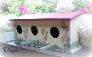 La foto del giorno: la casetta per uccellini di Carla