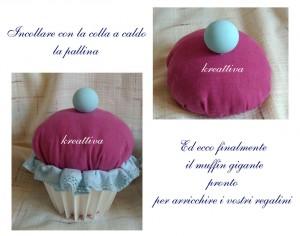 Come realizzare un Muffin di stoffa
