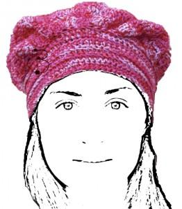 La foto del giorno: il cappello-bandana di knitcrocheTHing