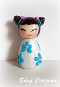La foto del giorno: la bambolina giapponese di Silvia