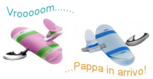 Come trasformare dei cucchiaini in aeroplanini