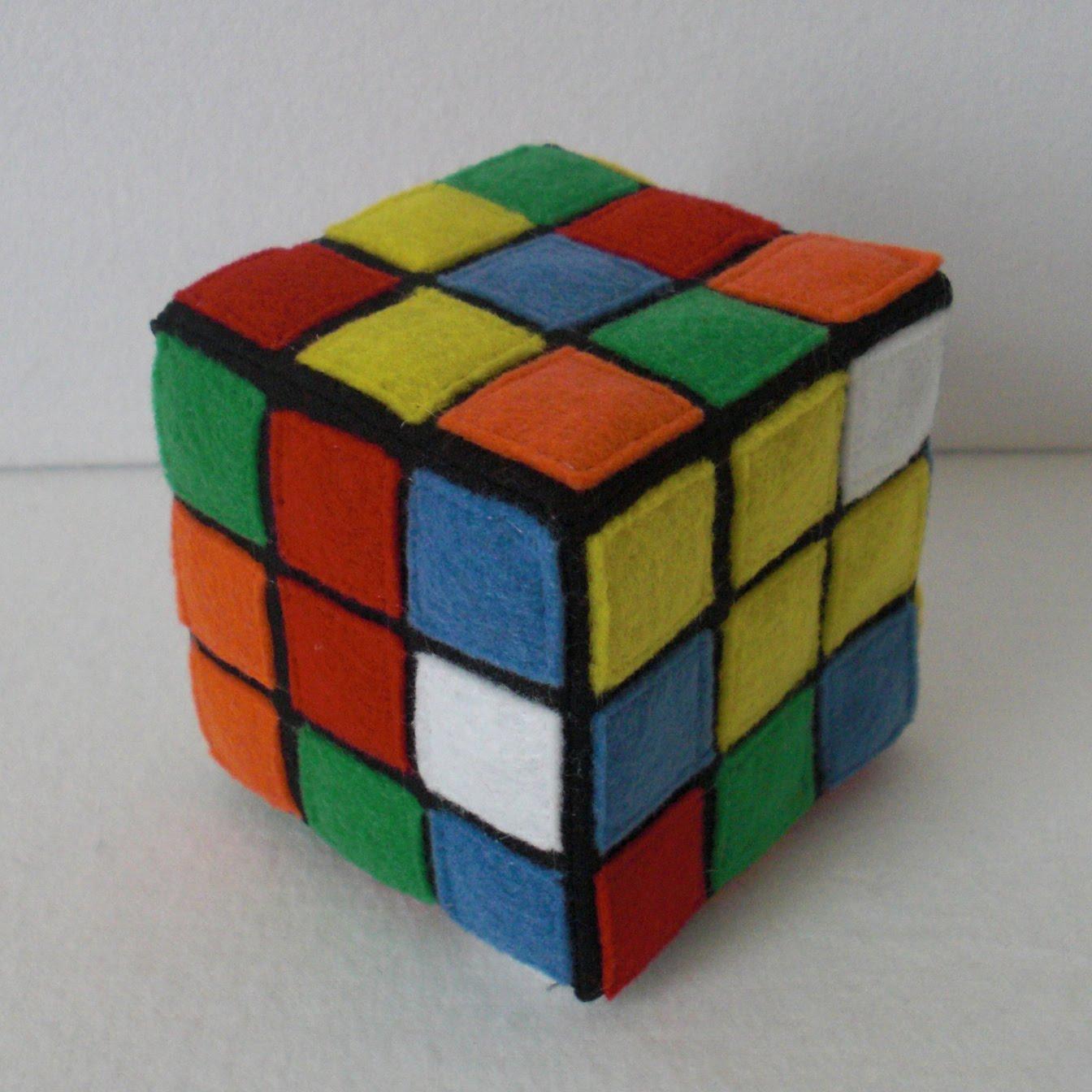 Come realizzare  il cubo di Rubik in stoffa