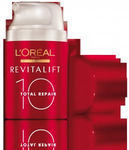 E' arrivato Il nuovo Revitalift Total Repair 10 de L'Oréal Paris: 10 buoni motivi per sceglierlo