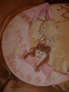 La foto del giorno: il fiocco nascita di Lina