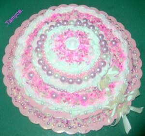 La foto del giorno: la torta di silicone di Tamara