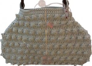 La foto del giorno: la borsa all'uncinetto di knitcrocheTHing
