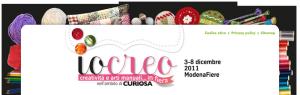 IoCreo: salone della creatività a Modena dal 3 all'8 dicembre