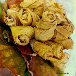 Come realizzare un bouquet con le foglie: tutorial