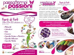 Passatempi e Passioni 2011: tutte le novità e il biglietto ridotto