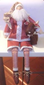 Come realizzare un Babbo Natale modello Tilda: cartamodello e tutorial