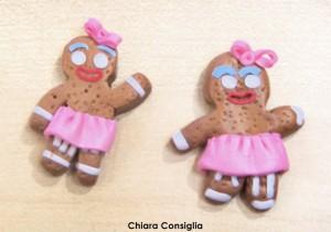 Realizzare un ginger bread con la  pasta polimerica insieme a Ester di Coccole di Fimo